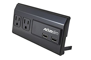 Imagen de Cargador USB y Tomacorrientes ASIUM Slim