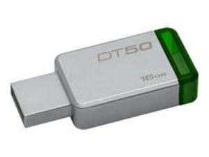 Imagen de Kingston DataTraveler 50 - Unidad flash USB - 16 GB  - USB 3.1 - verde