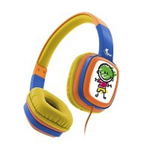 Imagen de Xtech Sound Art - XTH-350OR - Auriculares con diadema  - Cableado - Con tecnología con limitación de volumen
